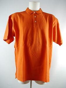 Gap Herren Polo Poloshirt Kurzarm Shirt Baumwolle orange Gr. XL TOP