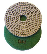 "4"" premium concrete diamond polishing pad/pads 800 grit"