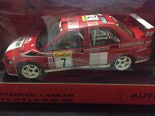 Autoart 1/18 Mitsubishi Lancer EVO VII WRC 2002 Monte CARLO #7 Rally 80251