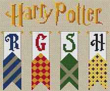 Harry Potter Banners Cross Stitch Chart