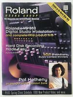 Roland Users Group Magazine Vintage Back-Issue Pat Metheny