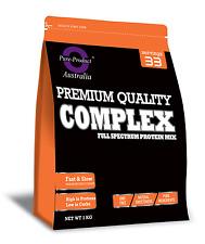 2KG Pure Complete Whey Protein Blend WPI/WPC/Casein Powder - VANILLA
