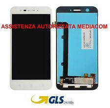 TOUCH SCREEN VETRO + LCD DISPLAY perZTE Vodafone Smart Prime 7 VFD600 Bianco