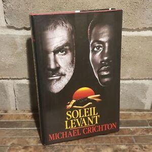 """Livre Roman: Titre """"Soleil levant"""" par Michael Crichton"""