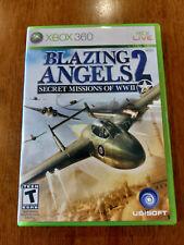 Blazing Angels 2 Secret Missions of WWII (Microsoft Xbox 360 2007) MINT W/MANUAL