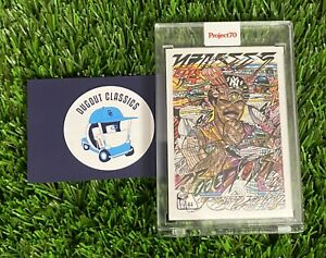 2021 Topps PROJECT 70 2004 Reggie Jackson by JK5 Card #96 New York Yankees