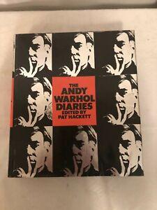 The Andy Warhol Diaries Book Pat Hackett 1989