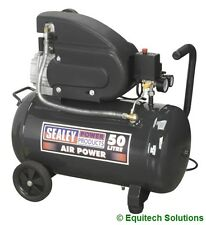 Sealey Tools SAC5020E 50 Litre 50L Air Compressor 2HP Direct Drive 230V New