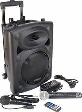 Ibiza PORT8VHF-BT-WH Impianto audio portatile cassa attiva (400 Watt, (P2x)