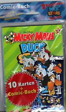 Micky Maus Duck Stars Band 2 inkl. 2 Päckchen Karten!!Ungelesen!!TOP Zustand!!!
