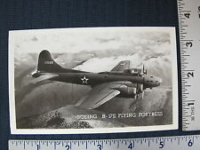 Boeing B-17E Flying Fortress Real Photo Postcard WWII WW2 RPPC US Air Force
