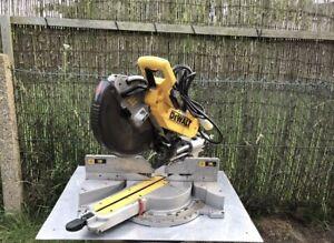 Dewalt DW718XPS 305mm Double Bevel Sliding Compound Mitre Saw 110V
