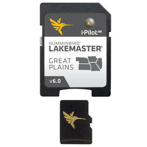 HUMMINBIRD 600017-5 Lakemaster Chart Great Plains