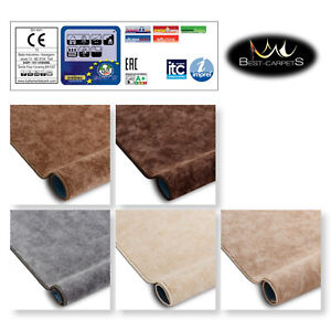 Best Carpets Hardwearing Soft SERENADE 5 Colours Stain Resistant Roll 4m 5m Rugs