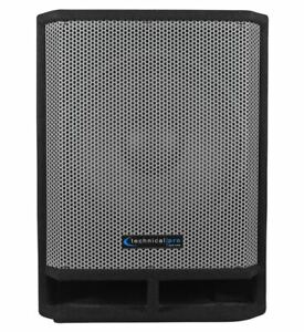 """New Technical Pro THUMP15 Thump 15"""" 1300w Passive DJ Carpeted Subwoofer PA Sub"""