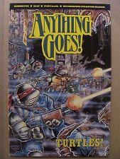 Anything Goes #5 Comics Journal 1986 Series Teenage Mutant Ninja Turtles TMNT
