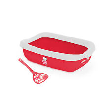 Hello Kitty Litter Tray et Scoop, avec Gratuit Hello Kitty Catnip Cui