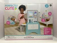 Perfectly Cute Grocery Store Kiosk - Play Food & Market Accessory 11 Piece Set