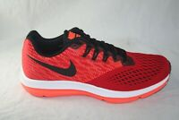 MEN'S NIKE ZOOM WINFLO 4 898466-601 GYM RED/BLACK-TOTAL-CRIMSON SIZE 8