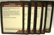 D & D wrath of ashardalon-Chamber Cards (14 pièces)