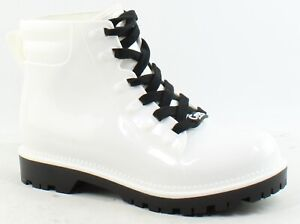 Circus by Sam Edelman Womens Kascade White Rainboots Size 8 (1483743)