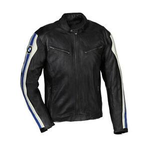 BMW Hommes Moto Motarde Courses Cuir Veste Protection d'armure EU46-EU56