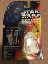 Star Wars Princess Leia Organa Red Card 2 Bands Belt USA 1995 Kenner