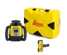 Rotating Laser Leica Rugby 680 with Rod Eye-120 and Alkaline Package 6011160