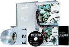 Used PS3 Metal Gear Solid HD Edition Premium Package Japanese Game