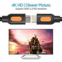4K HD Oxygen Free Copper OFC HDMI 2.0 Audio Video Cable Adapter Wire HDTV PC Lot