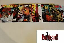 Robin Son of Batman 1-13 Complete Damian Wayne Comic Lot Run Set 1st Print