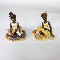 "Ballerina Figurines  4"" x 3"" each"
