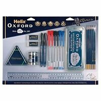 Helix Oxford Large School Stationary Set 19 Pieces includes Maths Set.