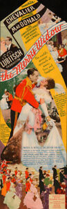 A The Merry Widow Original Movie Herald from the 1934 Movie