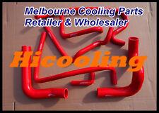 Red silicone heater radiator hose for HOLDEN VN VP VR VS V8 5.0L SS 304