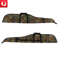 "Tourbon 56"" Gun Slip Scoped Cover Rifle Case Carry Bag Camo Military Shooting AU"