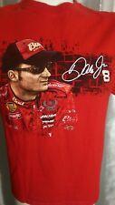 2007 Dale Earnhardt Jr #8 Budweiser M NASCAR NEXTEL CUP SERIES Schedule T-Shirt
