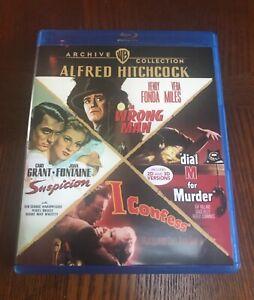 Alfred Hitchcock Presents 4 - Film (Suspicion, etc.) Archive Collection Blu-ray