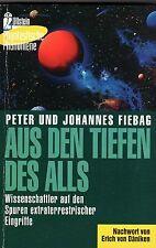 AUS DEN TIEFEN DES ALLS - Peter und Johannes Fiebag & Erich von Däniken BUCH