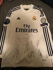 Autograph Real Madrid Jersey