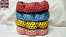 Dog Bed Polka Soft Eight-Square Small Medium
