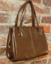 TRUE Vintage 70s Purse Kelly Frame Hipster Bag Rockabilly Grandma Handbag Brown
