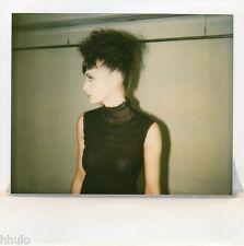 POL495 Polaroid Photo Vintage Original mode fashion mannequin model femme woman