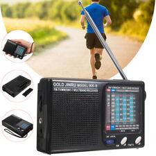 Mondo pieno portatile banda DSP Radio digitale Stereo FM/MW/SW ricevitore svegli