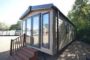 2022 Sunrise 'Micro' Lodge 35x10   1 bed   Walk through Wardrobe   Winterised