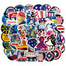 Lot 100 USA Vinyl Laptop Skateboard Stickers bomb Luggage Decals Dope Sticker