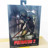 "NECA Armored Lost Predator 7"" Ultimate Action Figure 1:12 Predators 2 Official"