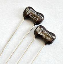 .005uF .005 uF 100V 5/% Radial Film Capacitors LOT 50