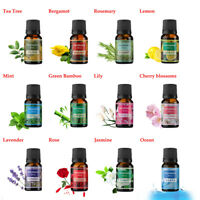 Pure Aromatherapy oils 10ml choose fragrance aroma Natural Aroma Air Purified