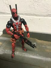 Marvel Legends TRU Toys R Us Exclusive Red Deadpool 2 pack Warpath Authentic